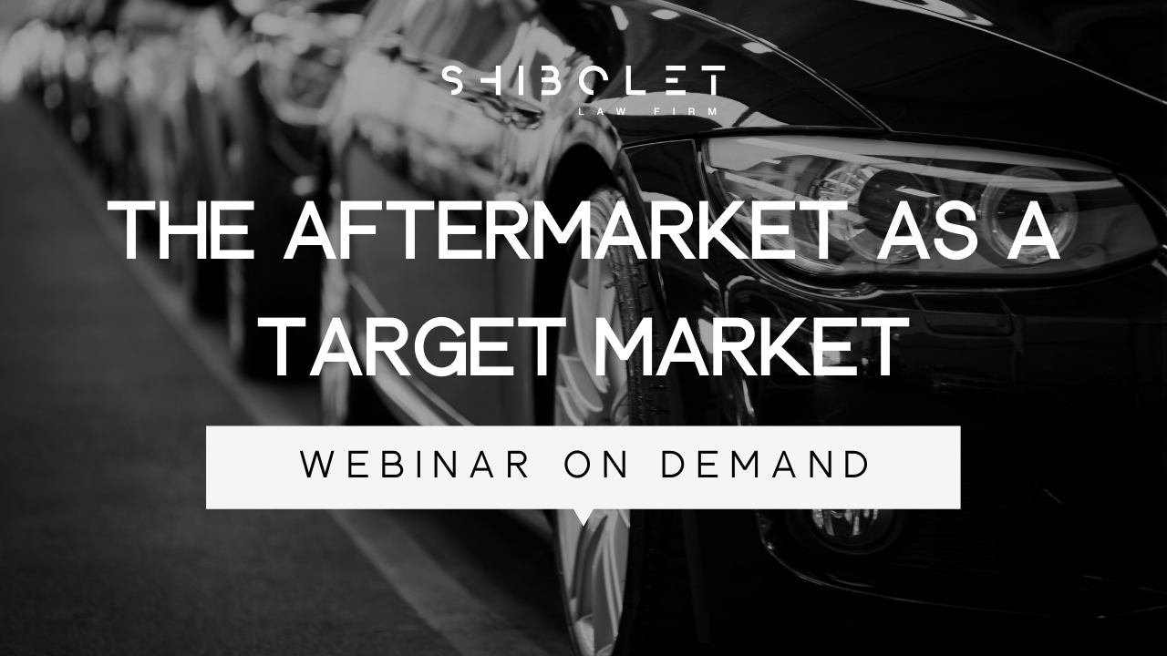 The Aftermarket as a Target Market